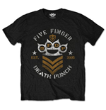 Five Finger Death Punch  T-Shirt für Männer - Design: Chevron
