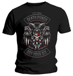 Five Finger Death Punch  T-Shirt für Männer - Design: Biker Badge