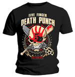 Five Finger Death Punch  T-Shirt für Männer - Design: Zombie Kill