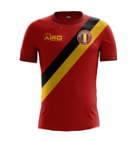 T-Shirt Belgien Fussball 2018-2019 Home Concept Kinder