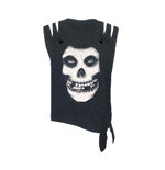 Misfits T-Shirt SKULL - TIE SIDE