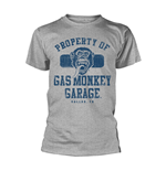 T-Shirt Gas Monkey Garage - Property Of Gmg Dallas