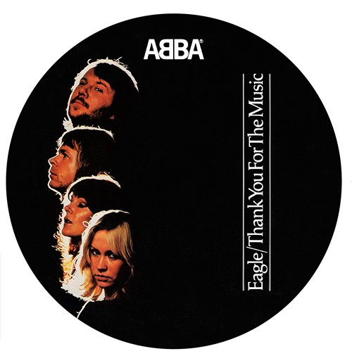 "Vinyl Abba - Eagle/Thank For The Music (7"") (Picture Disc)"