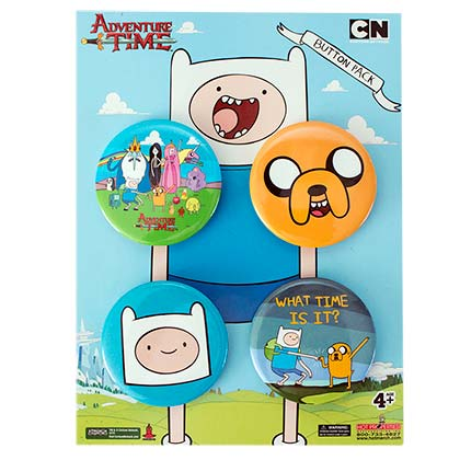 Brosche Adventure Time