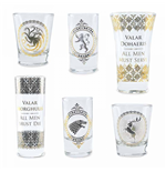 Glas Game of Thrones (Game of Thrones) - Black and Gold Premium