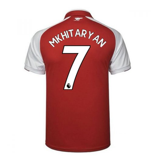 Trikot 2017/18  Arsenal 2017-2018 Home (Mkhitaryan 7)
