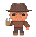 Nightmare On Elm Street 8-Bit POP! Horror Vinyl Figur Freddy Krueger 9 cm