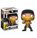 Mortal Kombat POP! Games Vinyl Figur Scorpion 9 cm