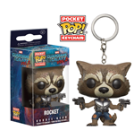 Guardians of the Galaxy Vol. 2 Pocket POP! Vinyl Schlüsselanhänger Rocket 4 cm