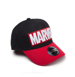 Kappe Marvel - Red Brick Logo Curved Bill Cap