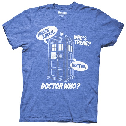 T-Shirt Doctor Who Knock Knock