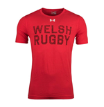 T-Shirt Galles Rugby 2018-2019 (Rot)