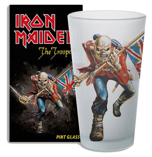 Iron Maiden Bierglas The Trooper