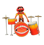Die Muppets Select Actionfigur Animal & Drums 11 cm