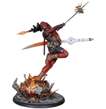 Marvel Comics Premium Format Figur Deadpool Heat-Seeker 61 cm