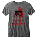 T-Shirt Star Wars Men's Fashion Tee: Episode VIII First Order Geo (Burn Out)