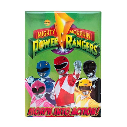 Magnet Power Rangers