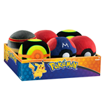 Pokemon Pokeball Plüsch 7 cm Display D5 (6)