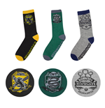Harry Potter Socken 3er-Pack Quidditch Hogwarts