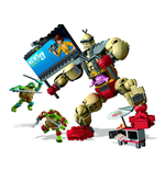 Teenage Mutant Ninja Turtles Mega Bloks Bauset Krang's Rampage