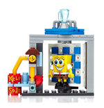 SpongeBob Schwammkopf Mega Bloks Bauset Photo Booth Time Machine