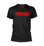 T-Shirt Tomb Raider  Logo in schwarz