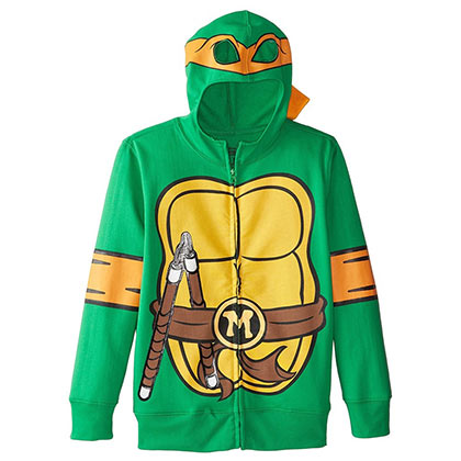 Sweatshirt Ninja Turtles Michelangelo Youth Costume Hoodie
