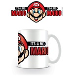 Super Mario Tasse Its A Me Mario
