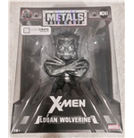 Marvel Comics Metals Diecast Minifigur Wolverine Raw Metal LC Exclusive 10 cm