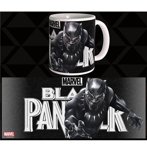 black panther tasse black original kaufen sie online im. Black Bedroom Furniture Sets. Home Design Ideas