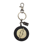 Justice League Metall Schlüsselanhänger The Flash Golden Logo