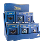 Legend of Zelda Breath of the Wild Metall Ansteck-Button Display (18)