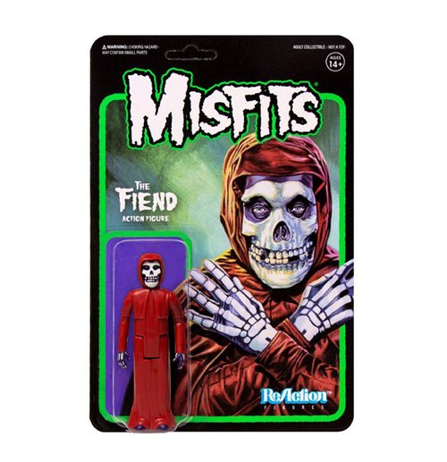 Misfits ReAction Actionfigur The Fiend Crimson Red 10 cm
