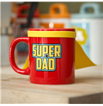 Super Dad Tasse mit Cape