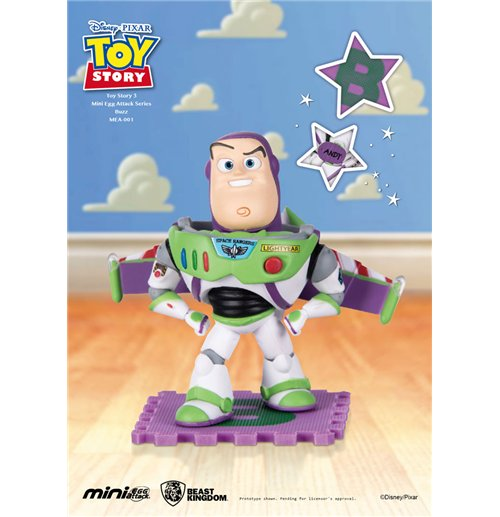 Toy Story Mini Egg Attack Figur Buzz Lightyear 9 cm