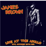 Vinyl James Brown - Live At The Apollo: Nyc, October 24Th 1962