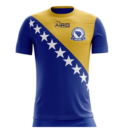 T-Shirt Bosnien Fussball 2018-2019 Home