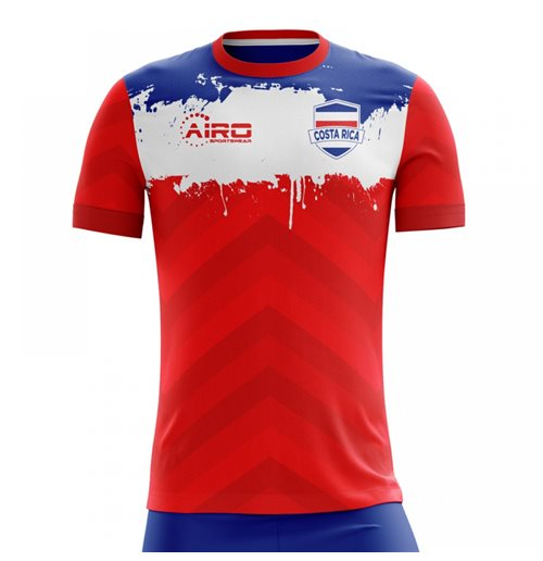T-Shirt Costa Rica Fussball 2018-2019 Home