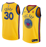 Golden State Warriors Stephen Curry Nike City Edition Replik Trikot