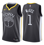 Golden State Warriors Javale McGee Nike Statement Edition Replik Trikot
