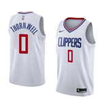 Los Angeles Clippers Sindarius Thornwell Nike Association Edition Replik Trikot