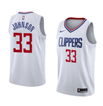 Los Angeles Clippers Wesley Johnson Nike Association Edition Replik Trikot
