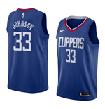 Los Angeles Clippers Wesley Johnson Nike Icon Edition Replik Trikot