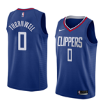 Los Angeles Clippers Sindarius Thornwell Nike Icon Edition Replik Trikot