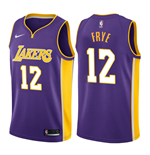 Los Angeles Lakers Channing Frye Nike Statement Edition Replik Trikot