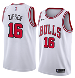 Chicago Bulls Paul Zipser Nike Association Edition Replica Trikot