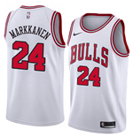 Chicago Bulls Lauri Markkanen Nike Association Edition Replica Trikot