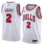 Chicago Bulls Jersey Jerian Grant Nike Association Edition Replik Trikot