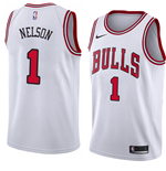 Chicago Bulls Jameer Nelson Nike Association Edition Replica Trikot