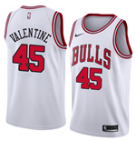 Chicago Bulls Denzel Valentine Nike Association Edition Replica Trikot